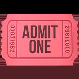 Admission Tickets ios emoji