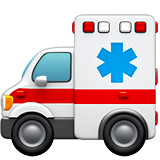 Ambulance ios emoji