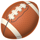 American Football ios emoji
