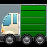 Articulated Lorry ios emoji