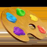 Artist Palette ios emoji