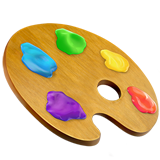 Artist Palette ios/apple emoji