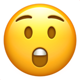 Astonished Face ios/apple emoji