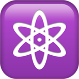 Atom Symbol ios emoji
