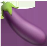Aubergine ios/apple emoji