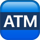 Automated Teller Machine ios/apple emoji