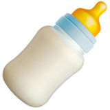 Baby Bottle ios emoji