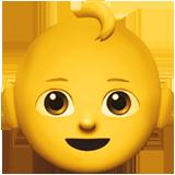 Baby ios/apple emoji