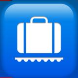 Baggage Claim ios emoji