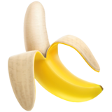 Banana ios emoji