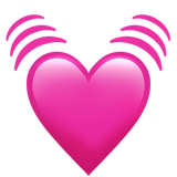 Beating Heart ios emoji