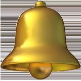 Bell ios/apple emoji