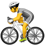 Bicyclist ios/apple emoji