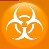 Biohazard Sign ios emoji