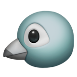 Bird ios/apple emoji