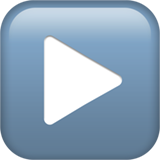 Black Right-pointing Triangle ios emoji