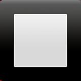 Black Square Button ios/apple emoji