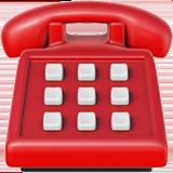 Black Telephone ios emoji
