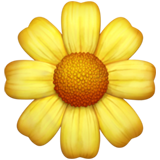 Blossom ios/apple emoji