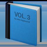 Blue Book ios/apple emoji