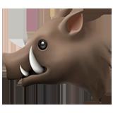 Boar ios/apple emoji