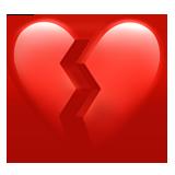 Broken Heart ios emoji