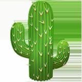 Cactus ios/apple emoji