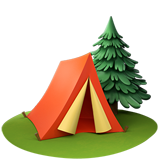 Camping ios/apple emoji