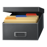 Card File Box ios/apple emoji