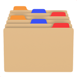 Card Index Dividers ios emoji
