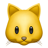 Cat Face ios/apple emoji