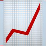 Chart With Upwards Trend ios emoji