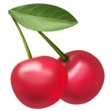 Cherries ios/apple emoji