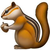Chipmunk ios/apple emoji