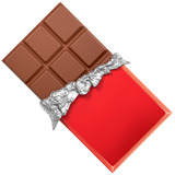 Chocolate Bar ios/apple emoji