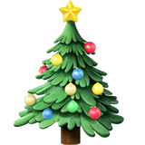 Christmas Tree ios emoji