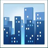 Cityscape ios/apple emoji