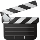 Clapper Board ios emoji