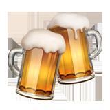 Clinking Beer Mugs ios emoji