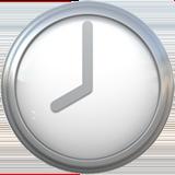 Clock Face Eight Oclock ios/apple emoji