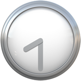 Clock Face Eight-thirty ios/apple emoji