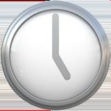 Clock Face Five Oclock ios emoji