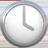 Clock Face Four Oclock ios emoji