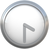 Clock Face Four-thirty ios/apple emoji