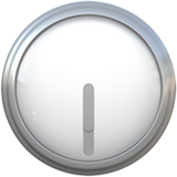 Clock Face Six-thirty ios/apple emoji