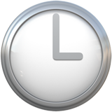Clock Face Three Oclock ios emoji