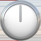 Clock Face Twelve Oclock ios emoji