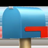 Closed Mailbox With Lowered Flag ios emoji