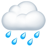 Cloud With Rain ios/apple emoji
