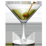 Cocktail Glass ios/apple emoji